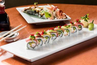 sushi from steel restaurant and lounge