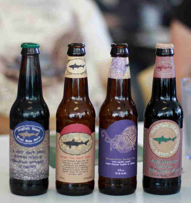 Dogfish head beers