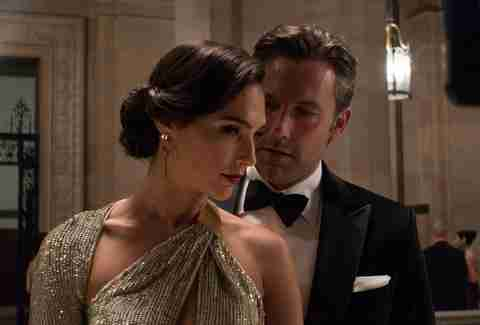 gal gadot and ben affleck in batman v superman