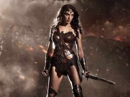 wonder woman in batman v superman dawn of justice