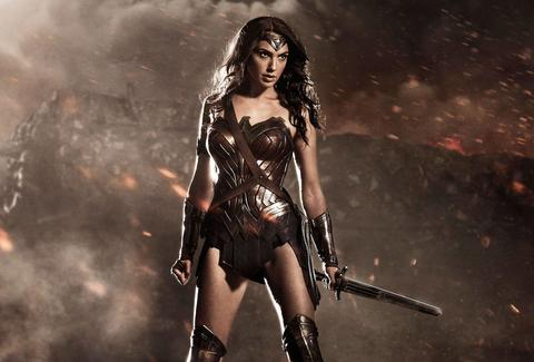 wonder woman in batman v superman dawn of justice