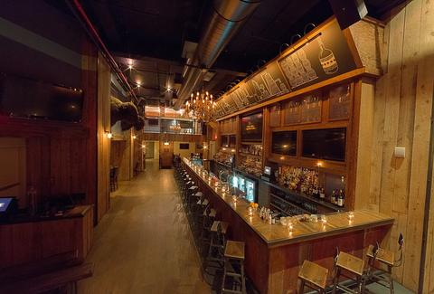 American Whiskey bar new york city interior