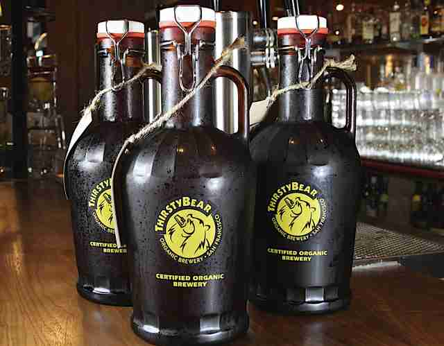 thirsty bear brewing growlers