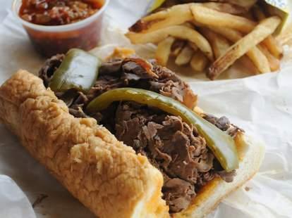 Al's Beef, Italian Beef Sandwich