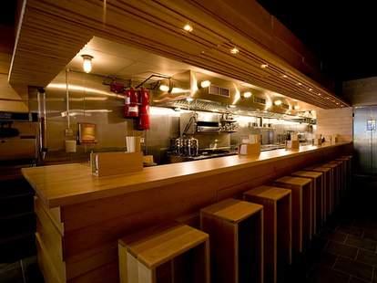 Momofuku Noodle Bar interior nyc asian fusion restaurant