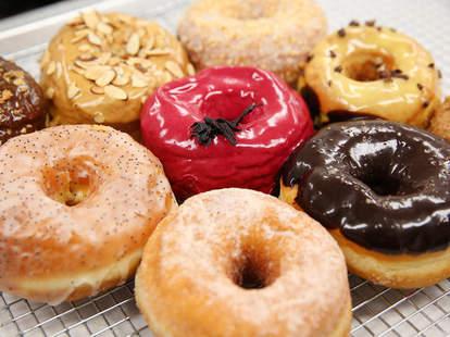 Dough doughnut shop nyc assortment