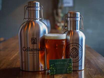 Beers at Cellarmaker Brewing Company
