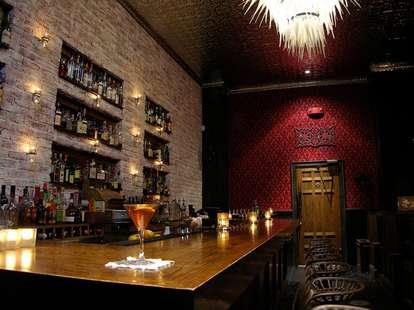 Bar at Bourbon and Branch San Francisco