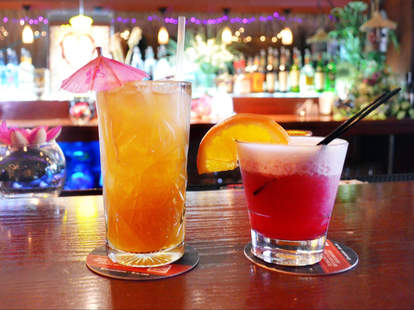 caribbean style cocktails the rusty knot
