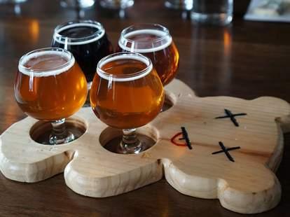 Beers at Triple Voodoo Brewery & Tap Room