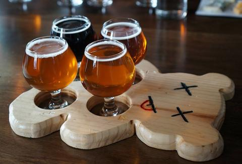 Beers at Triple Voodoo Brewery & Tap Room