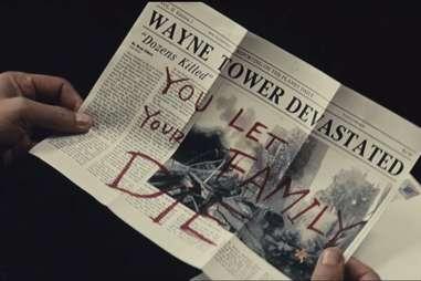 Batman V Superman, Newspaper, Family Die