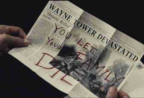 Batman V Superman, Newspaper, Family Die