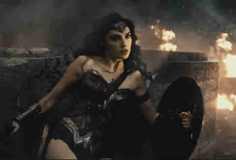 Batman V Superman, Wonder Woman