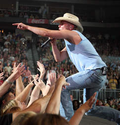 kenny chesney performing live most boston songs