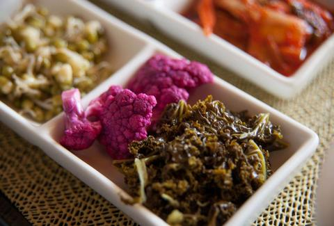 Purple Cauliflower Banchan from FuseBOX