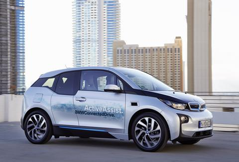 The BMW i3 can virtually drive itself