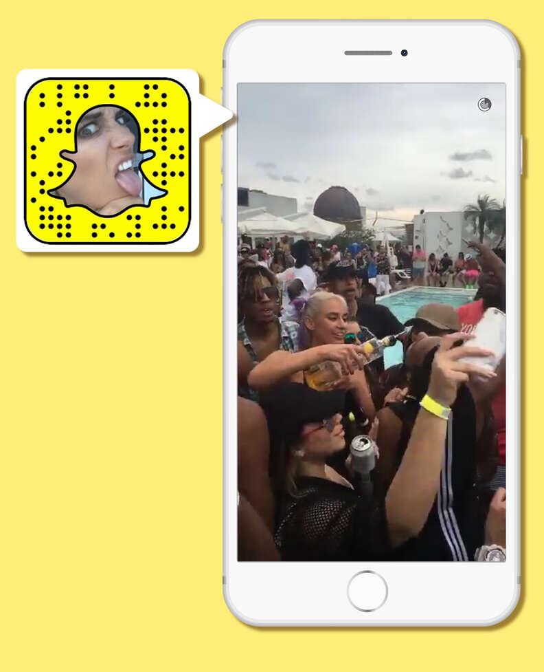 YesJulz on Snapchat