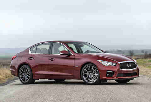 The Infinity Q50S has a Ph.D in stop and go tech.