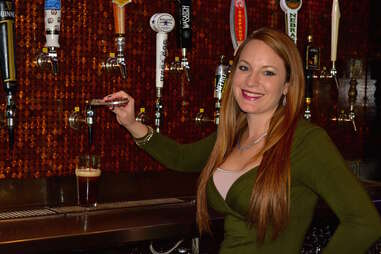 Amanda Snyder San Antonio bartender at Flying Saucer Draught Emporium