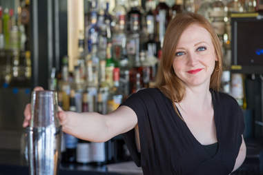 Elisabeth Forsythe bartender at Barbaro and Hot Joy in San Antonio
