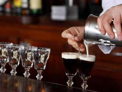 Irish Coffee's at The Buena Vista Cafe