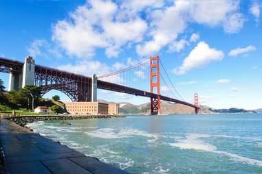 presidio san francisco golden gate bridge park