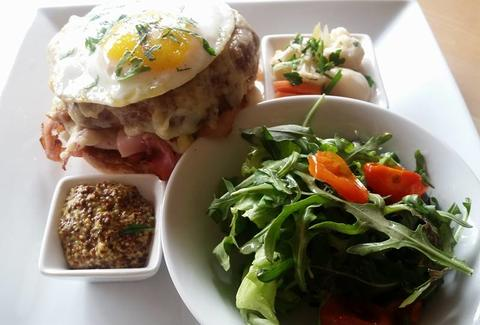 Croque Ma'Dame at Dante Next Door