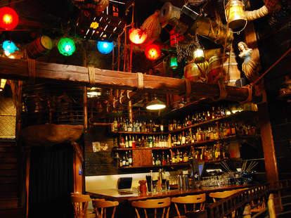 Upstairs Bar at Smuggler's Cove
