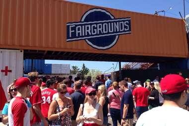 The Bullpen at the Fairgrounds in Washington DC