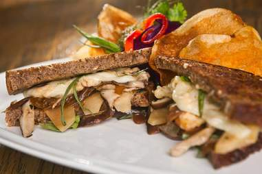 Shiitake and Gouda Grilled Cheese from Etch