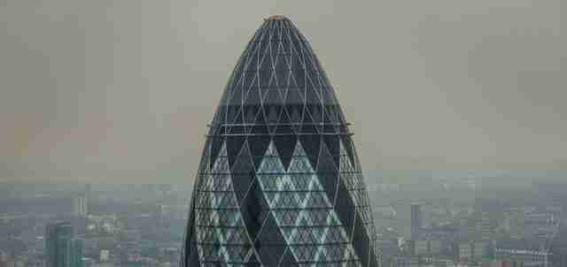 The Gherkin, London famous buildings
