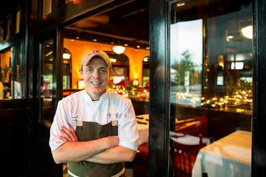 Chef Steven Robillio of Amerigo
