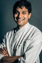 Vasisht Ramasubramanian, chef at The Hook