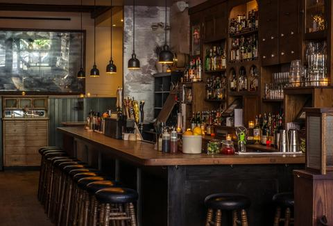 The Wren bar in New York City