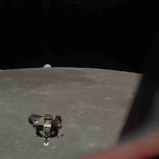 lunar module ascent