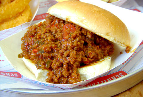 sloppy joe at Schnippers