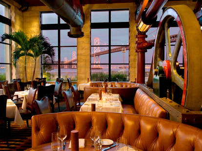 Interior of Dining Room at EPIC Roasthouse