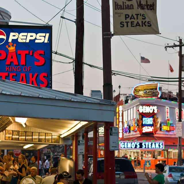 Everything You Knew About the Pat\'s-Geno\'s Rivalry Is a Lie