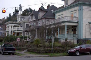 Alphabet district in Portland, Oregon