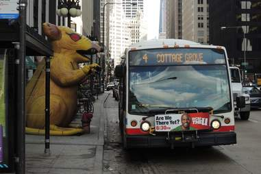 inflatable rat chicago