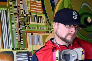 John Osgood  Artist/Muralist/Curator  in Seattle