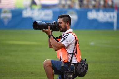 Dan Poss  Team Photographer Seattle Sounders FC in Seattle