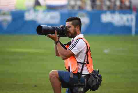 Dan Poss  Team Photographer Seattle Sounders FC in Seattle