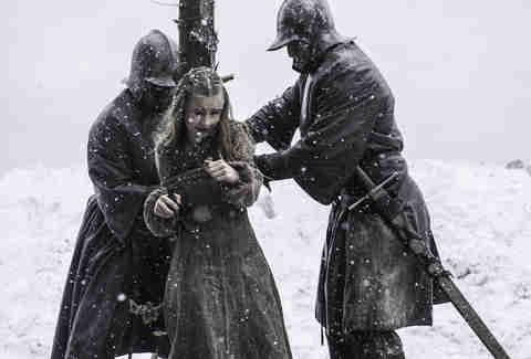 Kerry Ingram as Shireen Baratheon in HBO Game of Thrones