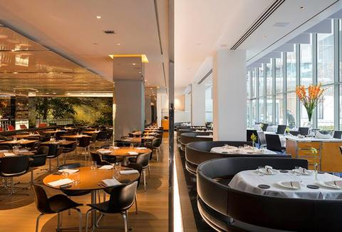 The Modern restaurant in MoMA