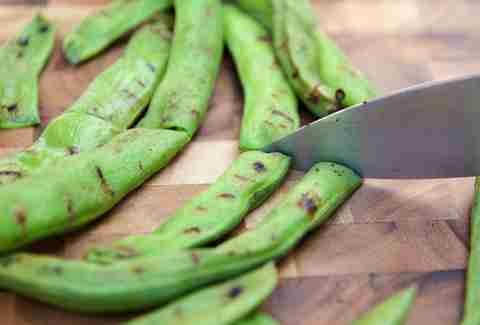 fava beans, grilled broad beans