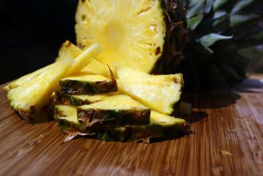 pineapple, fresh fruit