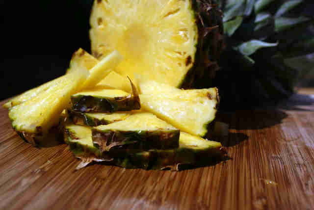 pineapple, fresh fruit