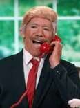 Geraldo Rivera as Donald Trump on Dancing With The Stars
